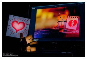 Danbo in love by NightSheep
