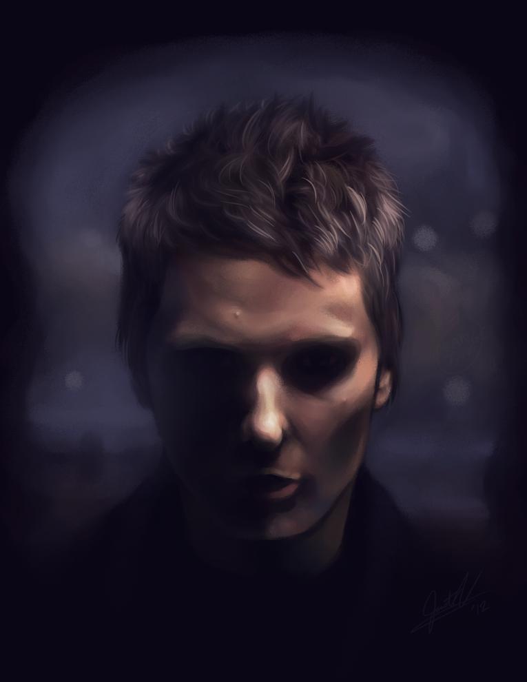 Matthew Bellamy Portrait by Orangetavi