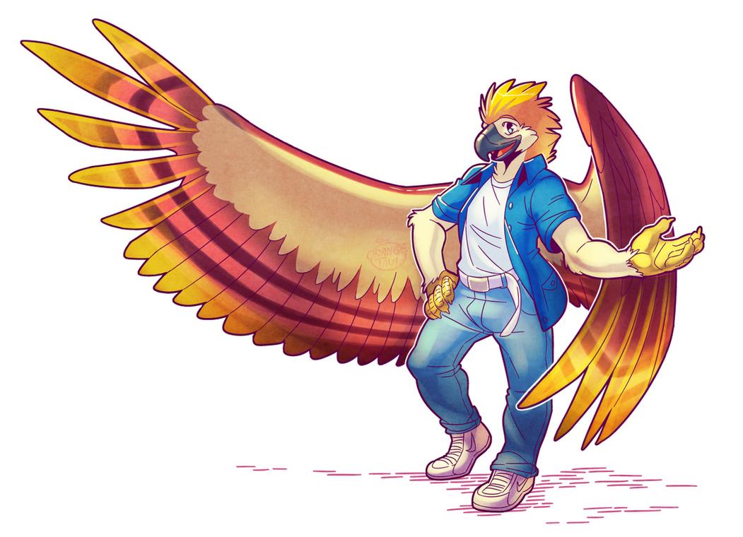 Winged Aurum by Orangetavi