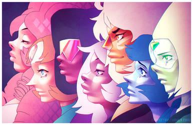 Gems of Steven Universe