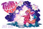 July 2015 Postcard: Fireworks!