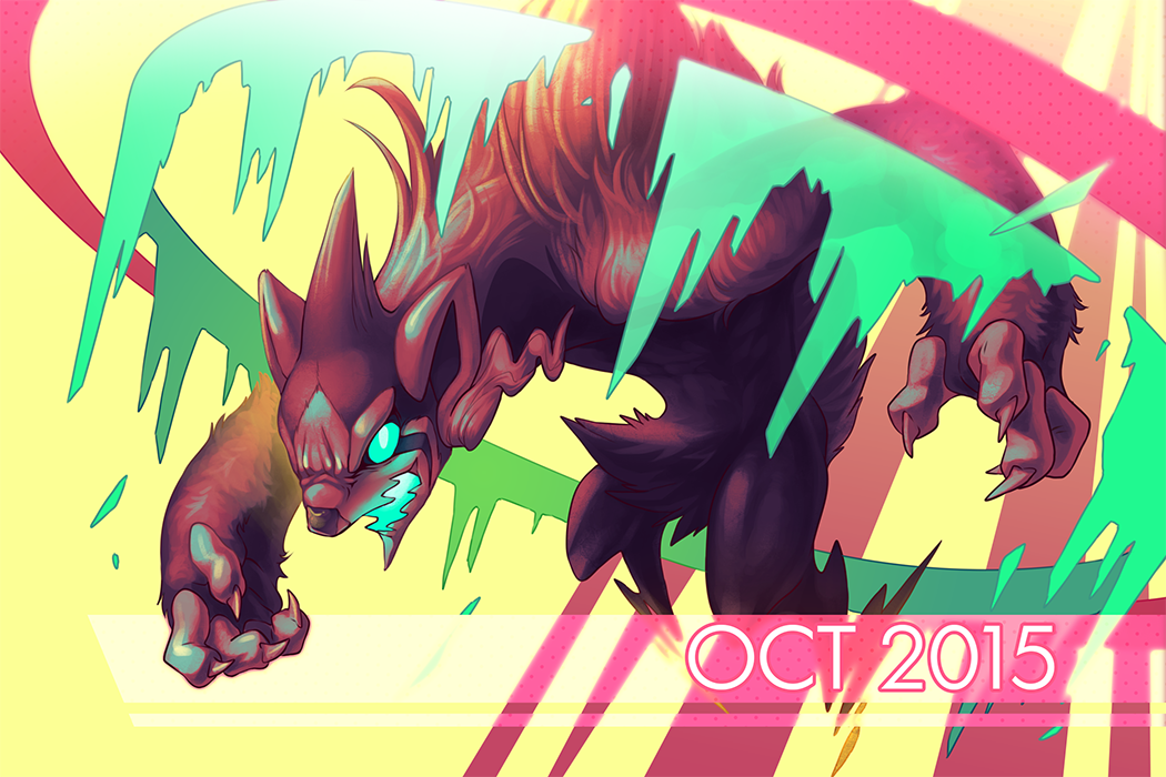 October 2015 Postcard by Orangetavi