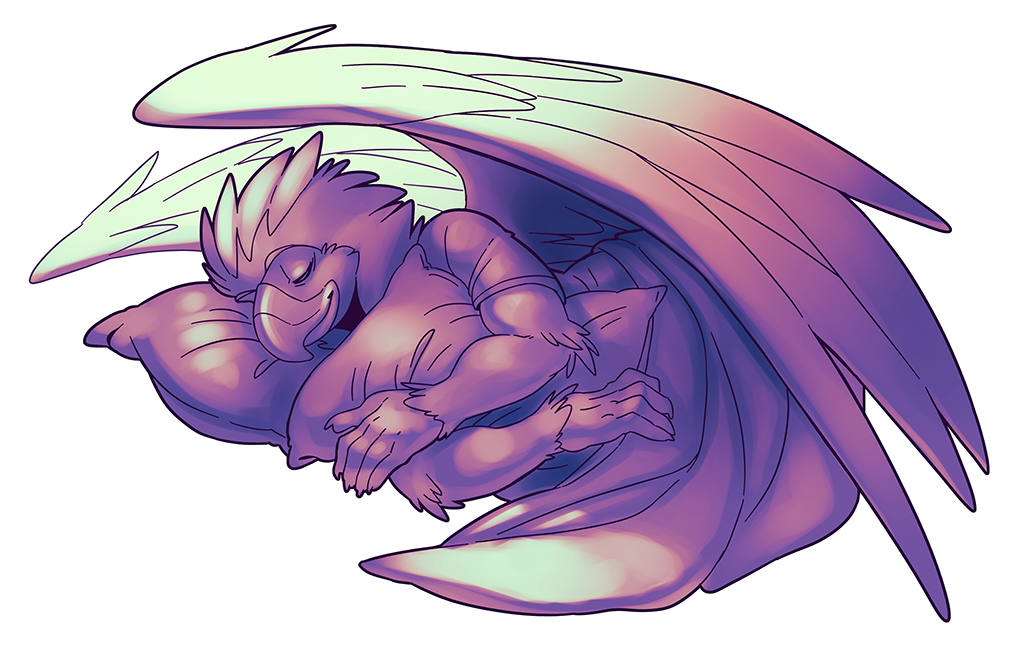 Sleeping Aurum by Orangetavi