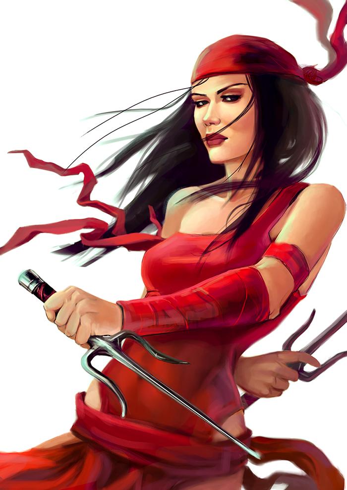 Elektra by schultzee