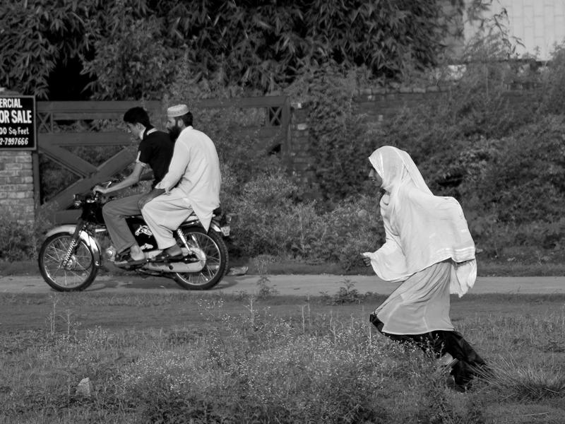 Hijab Vs The Machine by InayatShah