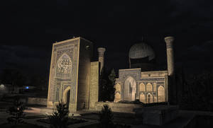 Amir Tahmoor Mausoleum HDR