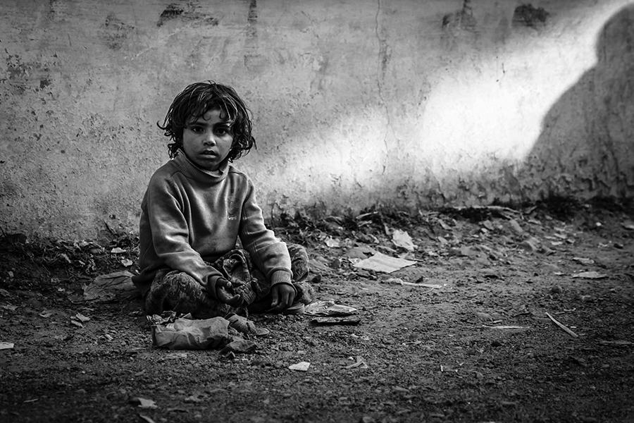 Portrait Of Poverty  by InayatShah
