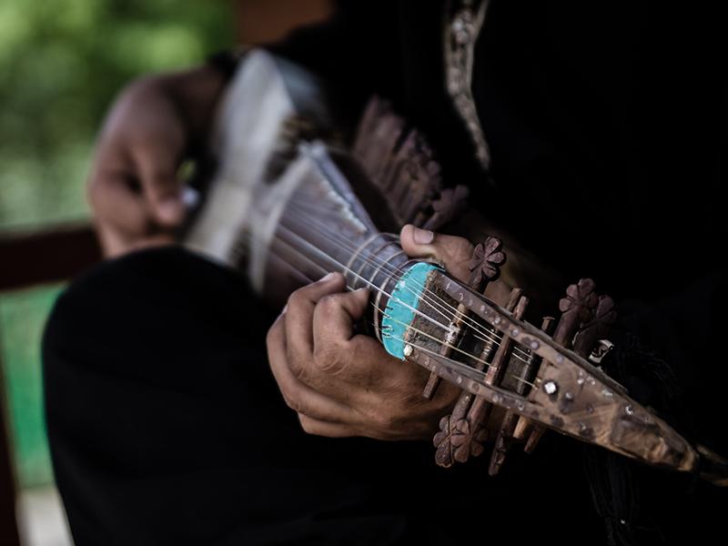 Musician by InayatShah