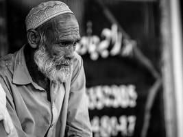 Old Shopkeeper by InayatShah