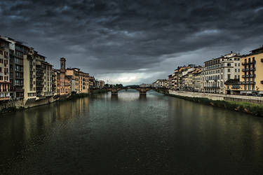 River Arno - I by InayatShah