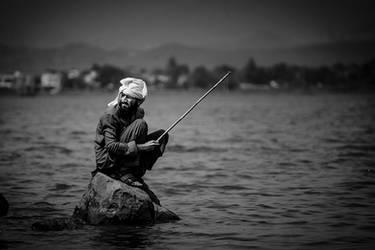 Stranded Fisherman by InayatShah