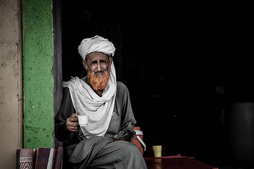 Old Man And The Tea  Not By Hemingway