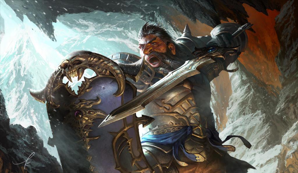 Dwarf in Neverwinter Online by ker93