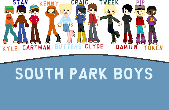 South Park Boys Class Pixel By Hannahrenae On Deviantart