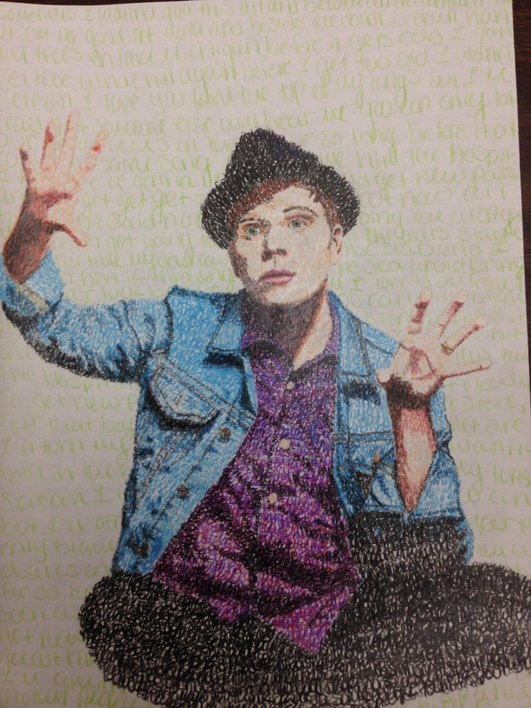 Patrick Stump - Typography by HannahRenae
