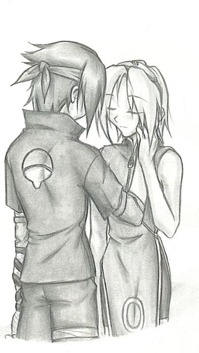Sasuke And Sakura By Clownhunteravis On Deviantart