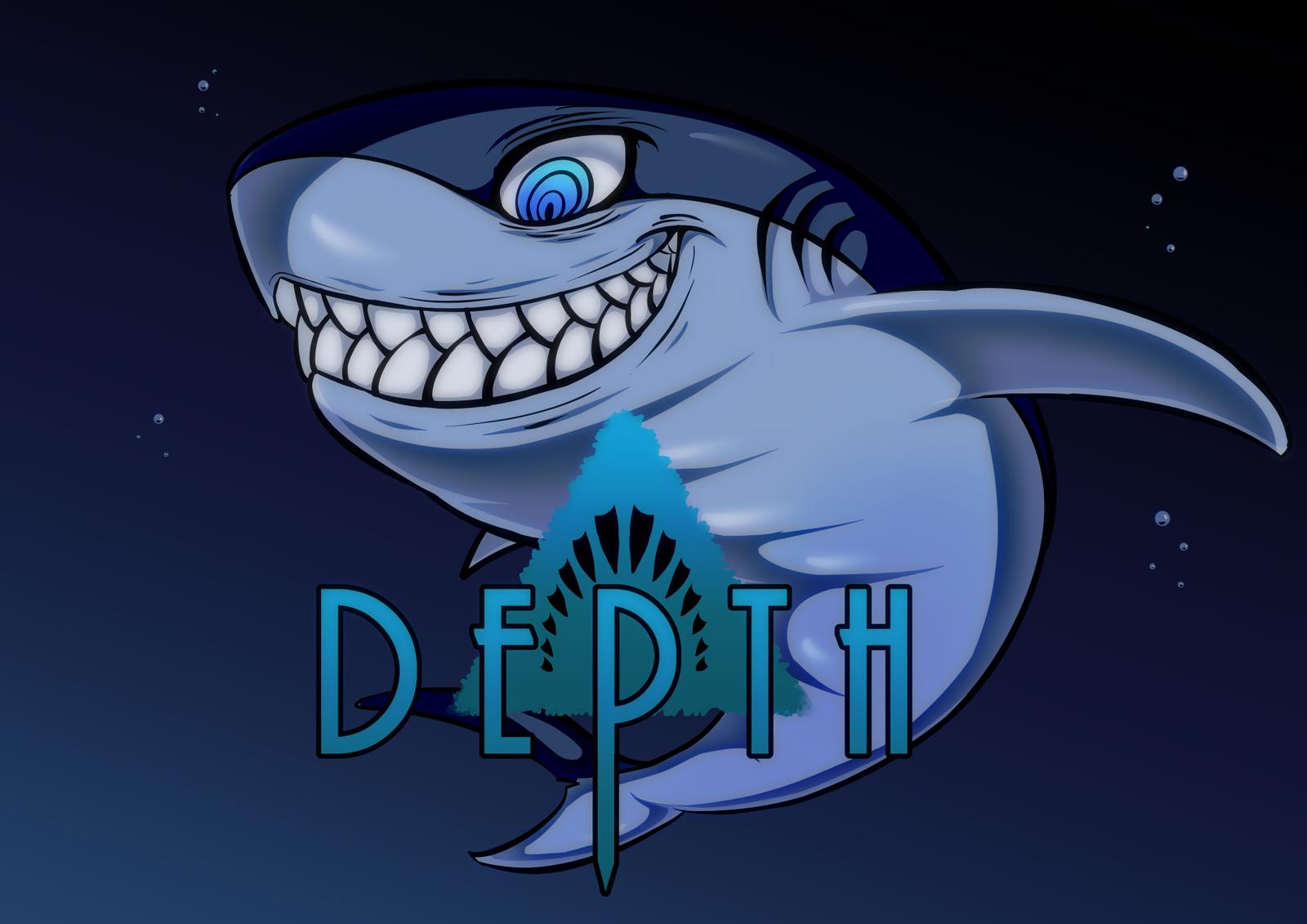 depth great white shark by robicraft on deviantart