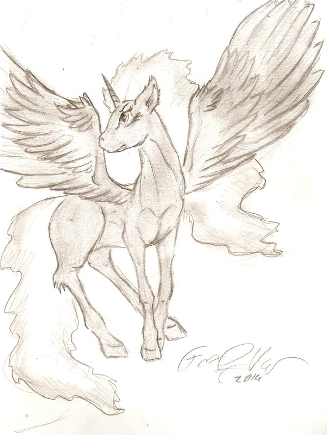 Nyx sketch by FoxOFWar