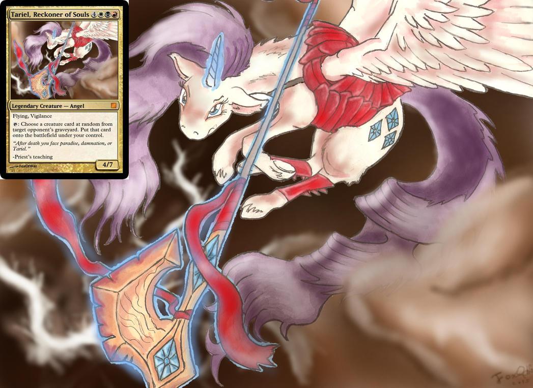 Rarity, Reckoner of Souls by FoxOFWar