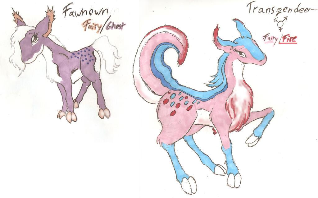 Them Trans* Pokemon by FoxOFWar