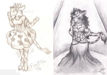 Improvement pt. Cow Costume
