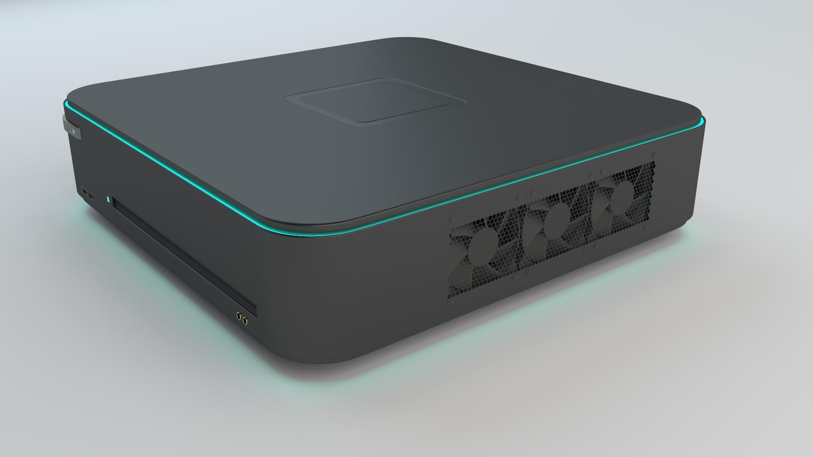 Xbox One Slim Concept Console Concept Render...
