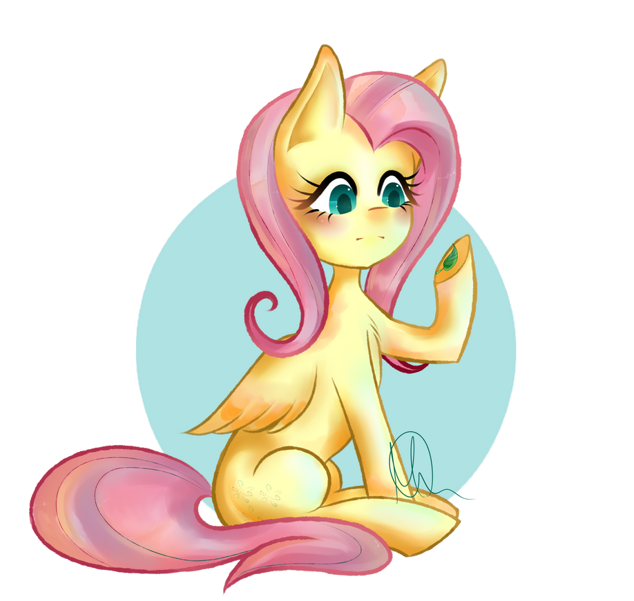 ~ Fluttershy ~ by FullBucket