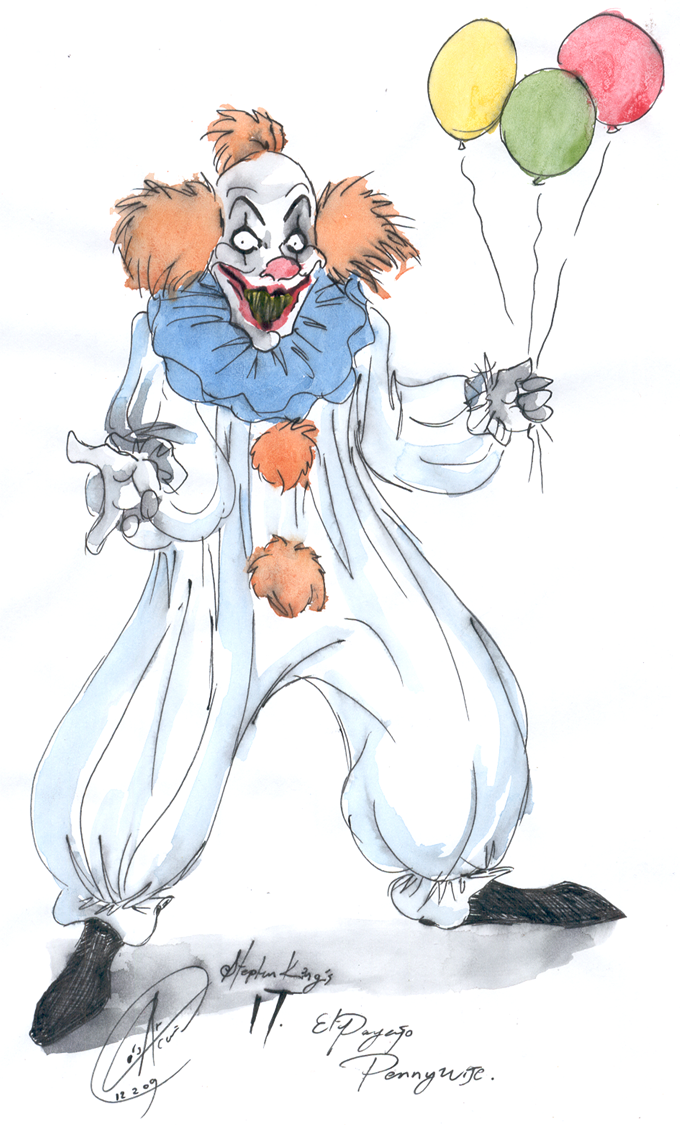Pennywise The Dancing Clown By Demoncartoonist On Deviantart
