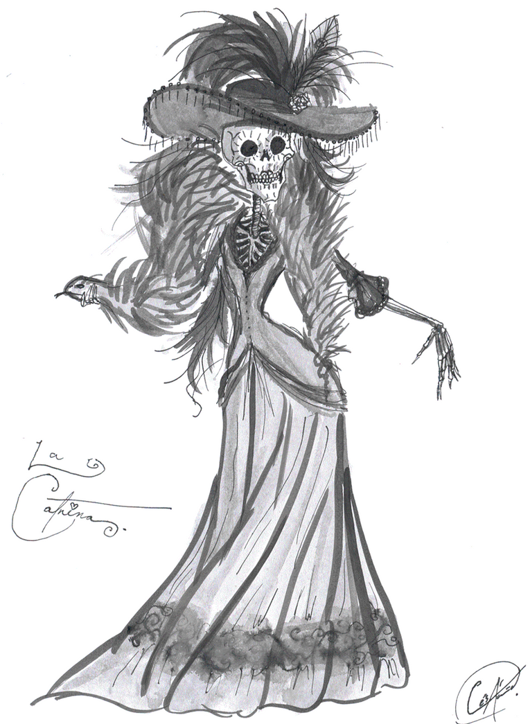 The CATRINA by DemonCartoonist