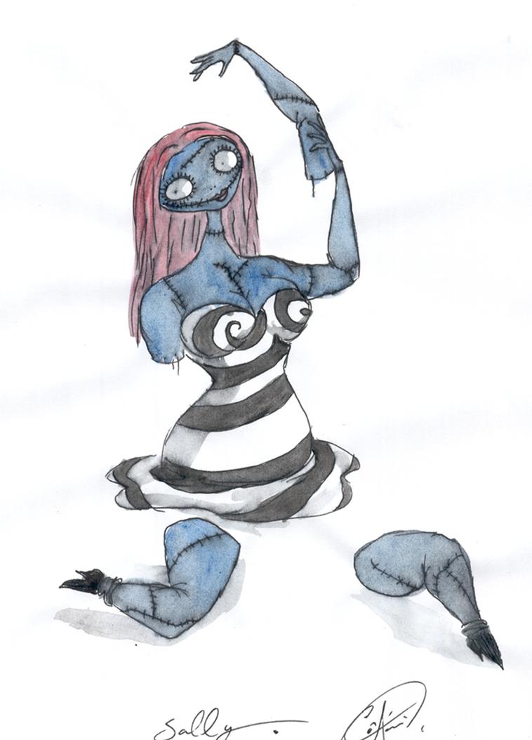 Burton's  Sally by DemonCartoonist