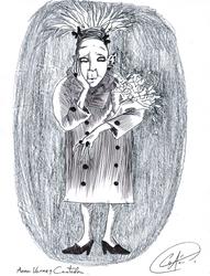 Anna Varney  1/3 by DemonCartoonist