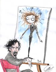 Tim Burton's Style by DemonCartoonist