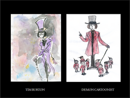 Willy Wonka Comparative by DemonCartoonist