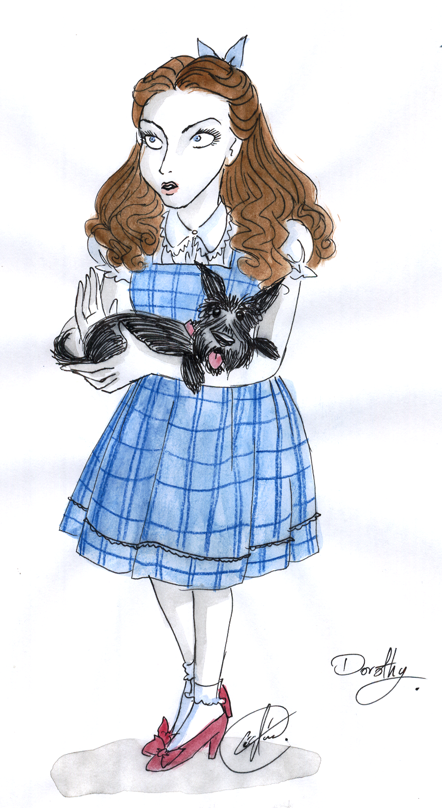 Dorothy Gale of Kansas by DemonCartoonist
