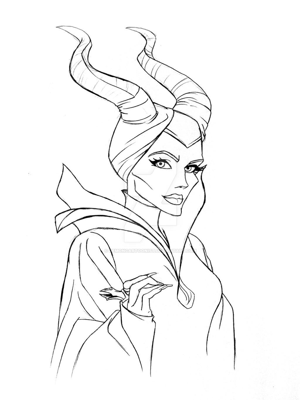 Maleficent by DemonCartoonist on DeviantArt