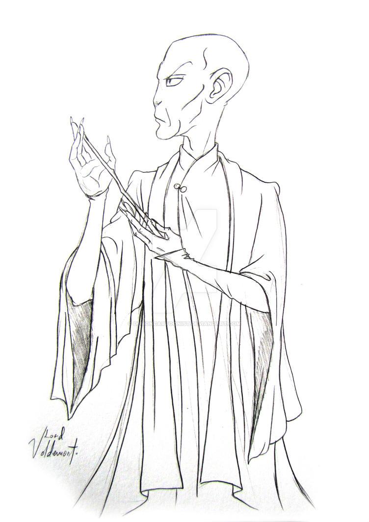 Voldemort by DemonCartoonist