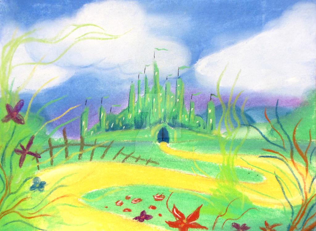 Emerald City by DemonCartoonist