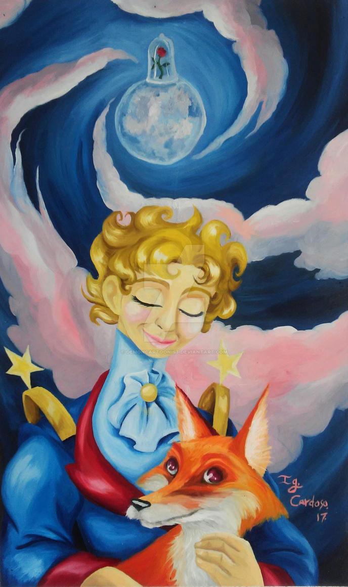El Principito-The Little Prince by DemonCartoonist ...