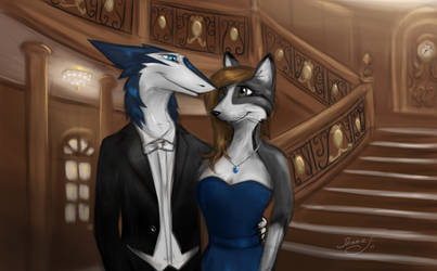 The grand staircase by ShaneTheSergal