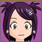 aniva murasaki momo smile by bloodxsaki