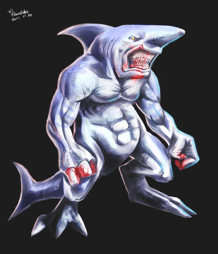 Sharkman art - photo#15