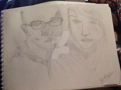 Lover's Sketch by AriGirl101