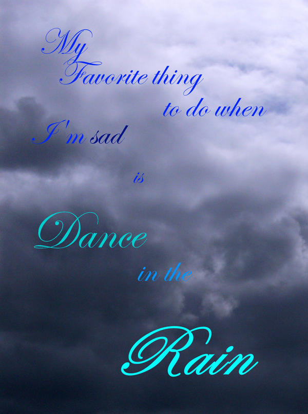 Raining by LadyReaderofBooks