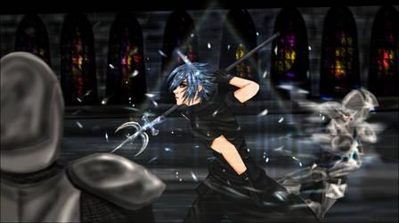 FF Versus XIII: The Prince by Phoenix-Blaze
