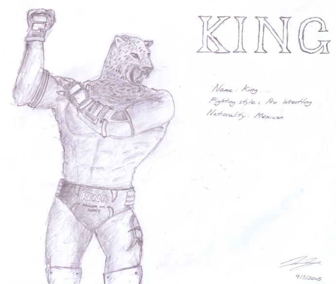 KING FOR TEKKEN 5 by ghettocookie on DeviantArt