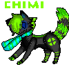 Chimi the wolf FA by BubbleChii