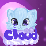 Cloud ((somewhat realism)) Icon by BubbleChii