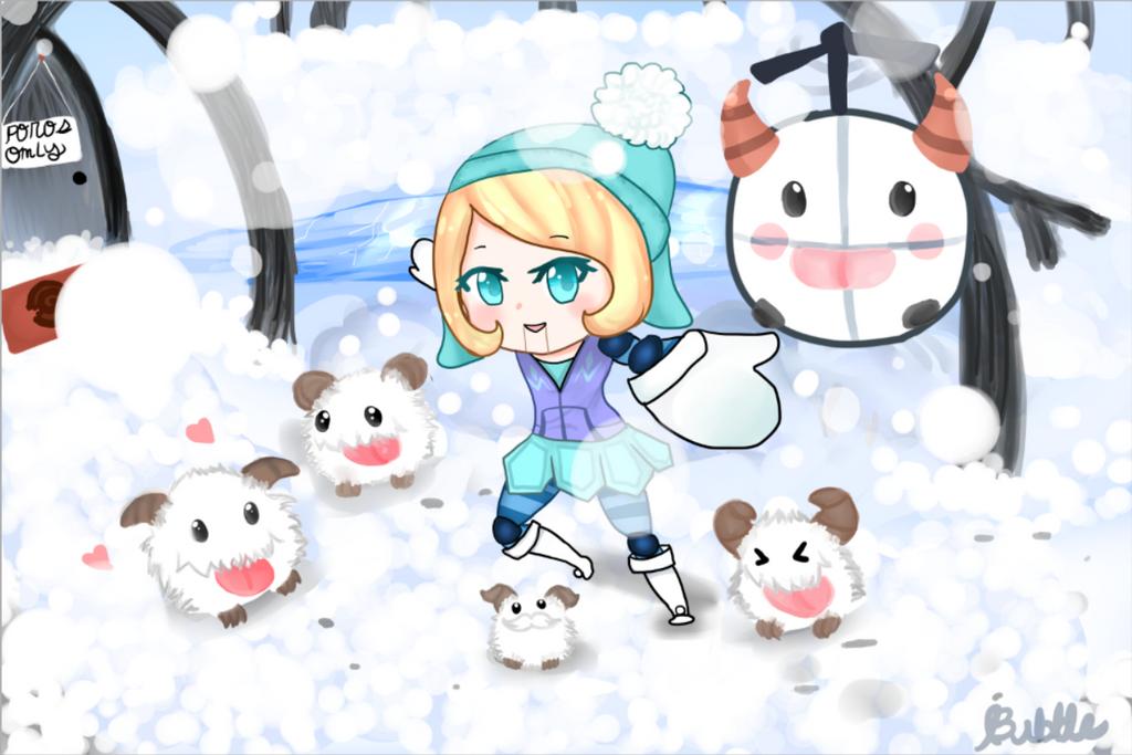 Winter Wonder Orianna by BubbleChii