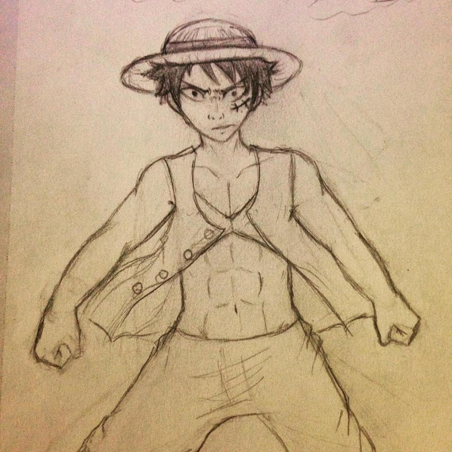 Monkey D Luffy by BubbleChii