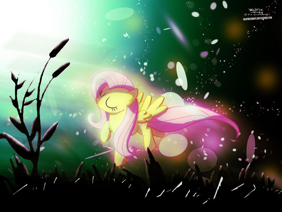 Fluttershy's Dream by GraphicBrony